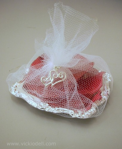 wedding favor, soap, rose petals