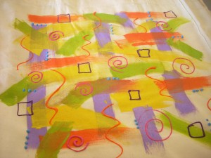 Fun and Easy Summer Tote BagWith Fabric Paint