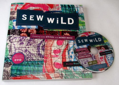 Blog Book Tour: Sew Wild by Alisa Burke - An Interview with Alisa