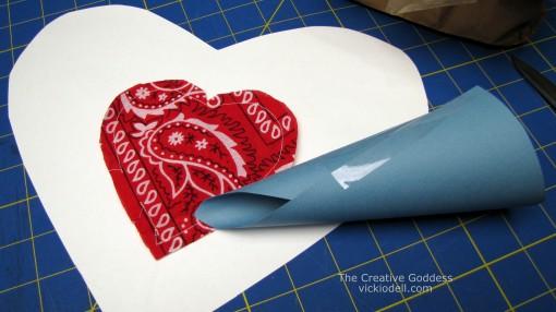 Valentine's Day - Bandanna Heart Sachets