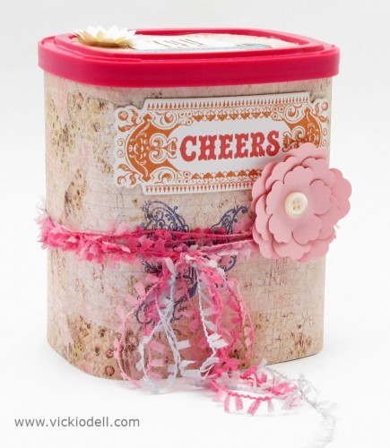 Upcycle a Viactiv Container for Gift Giving