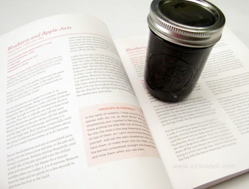 Canning For a New Generation, Liana Krissoff, blueberry and apple jam