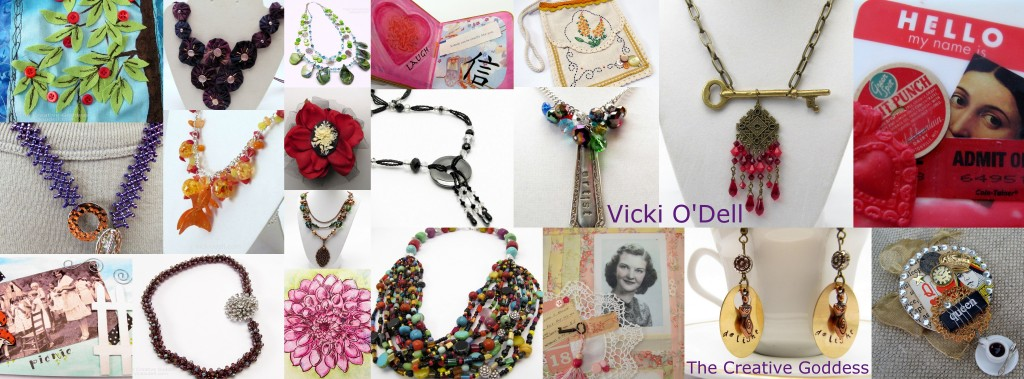 Vicki O'Dell - The Creative Goddess - For Hire