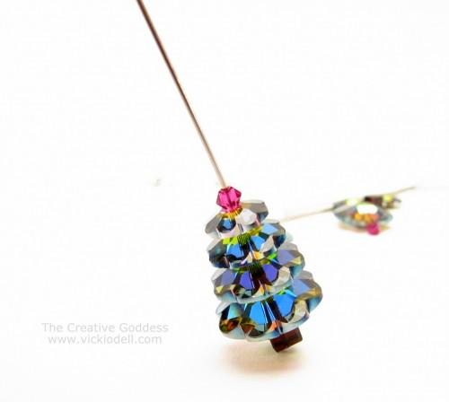 Swarovski Crystal Christmas Tree Earring Kit