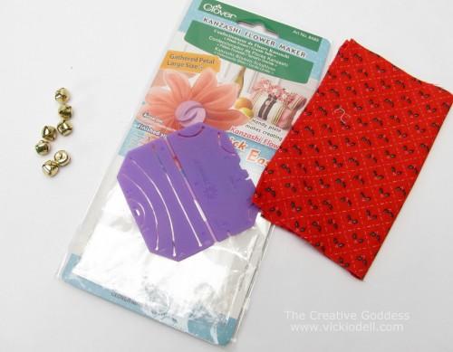 Kanzashi Flower Maker, Poinsettias, Christmas Crafts