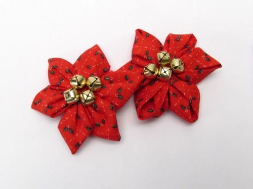Kanzashi Flower Maker Poinsettias for Christmas Crafts