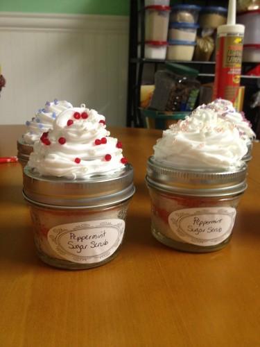 Mason Jar Cupcake Favors