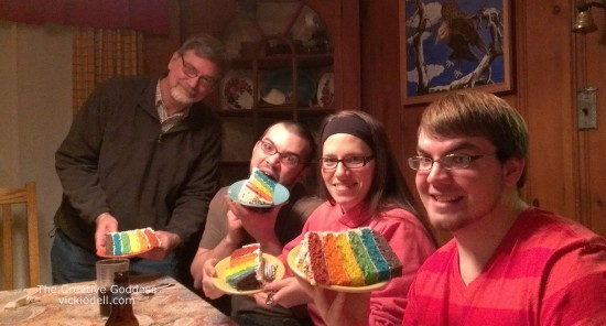 Recipe: Rainbow Cake