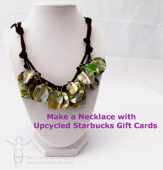 Make-a-Necklace-with-Recycled-Gift-Cards