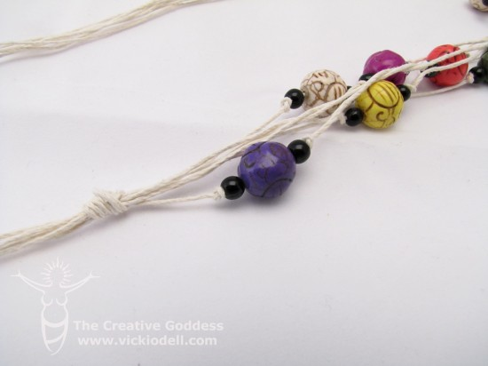 Beads and Hemp from Dazzle-It