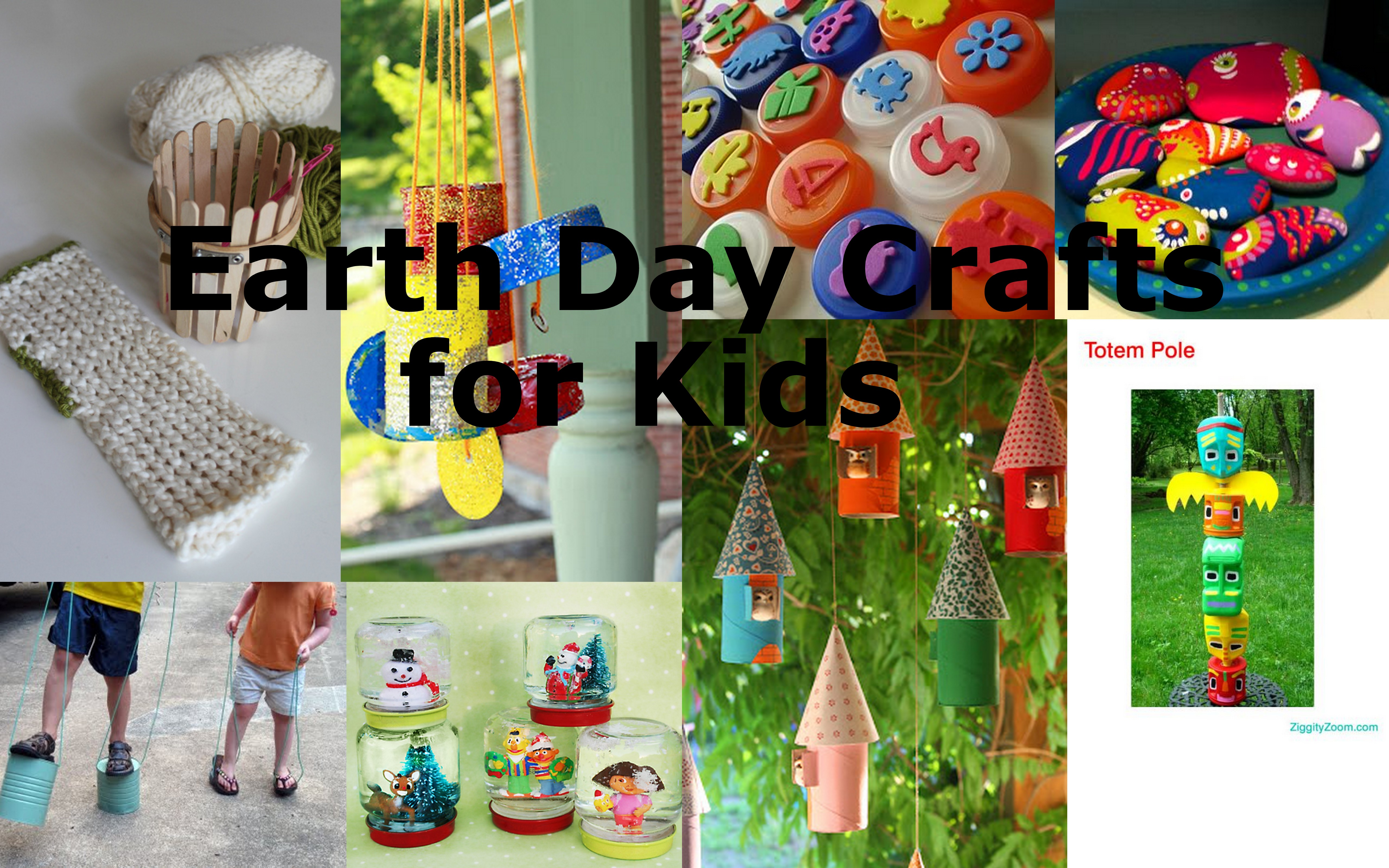 8 More Earth Day Crafts for Kids • Vicki O'Dell
