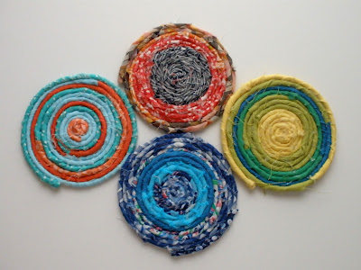 scrap-fabric-coasters