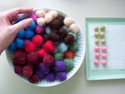 Making Wet-Felted Beads