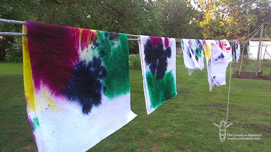 Summers End Family Tie Dye Party